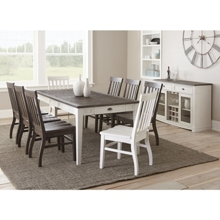 Cottonville Two-Tone Farmhouse Dining Set by Greyson Living
