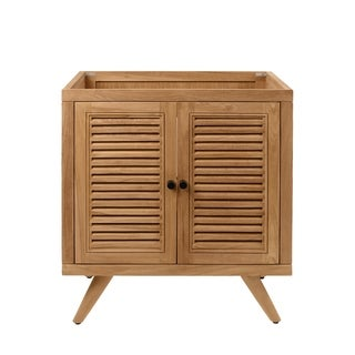 Avanity Harper 30 in. Vanity Only in Natural Teak