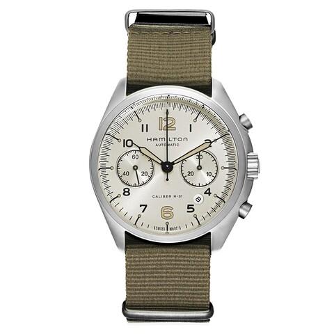 Hamilton Khaki Aviation Fabric and Stainless Steel Men's Watch