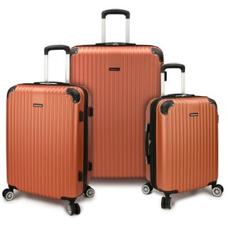Traveler's Choice Charvi 3-Piece Expandable Spinner Luggage Set