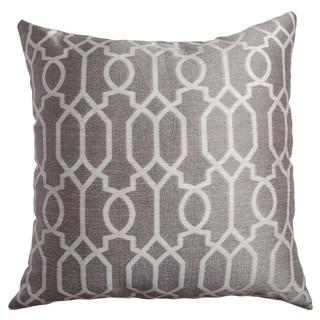 """Softline Morena Quatro Geometric 20""""x20"""" Poly-filled Decorative Throw Pillow"""