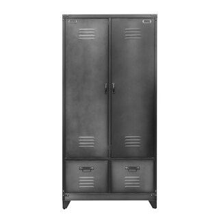 2-Door Steel Locker With Drawers