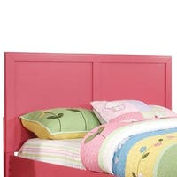Prismo Traditional Full Queen Headbord, Pink Finish