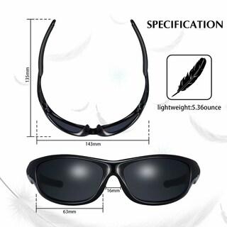 Polarized Sports Sunglasses For Man Women Cycling Running Fishing