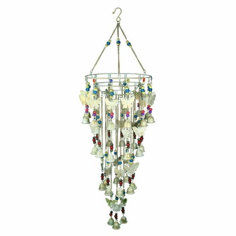 Splendid Iron Wind Chime, Multicolor
