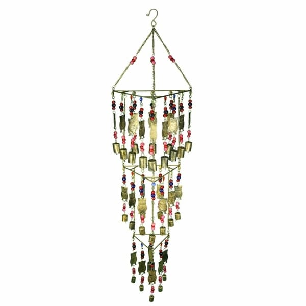 Beautifully Designed Iron Wind Chime, Multicolor