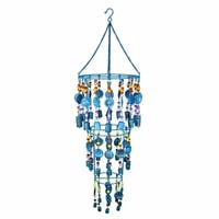 Aesthetically Enchanted Iron Wind Chime, Multicolor