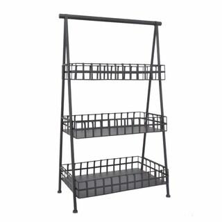 Decent Storage Rack - Benzara
