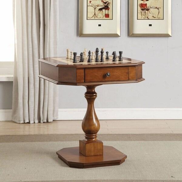 Modish Game Table, Cherry