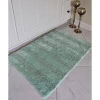 Unbelievable Mats Two Piece Reversible Organic Cotton Bath Mat Set