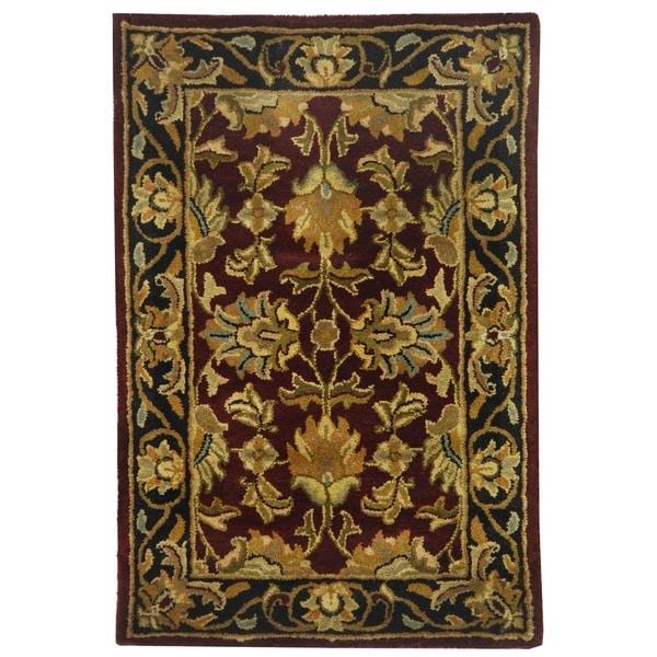 Safavieh Handmade Heritage Sharee Traditional Oriental Wool Rug
