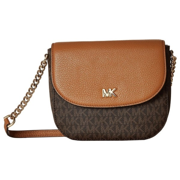2d7f2b4cc29da2 Shop MICHAEL Michael Kors Half Dome Crossbody - On Sale - Free ...