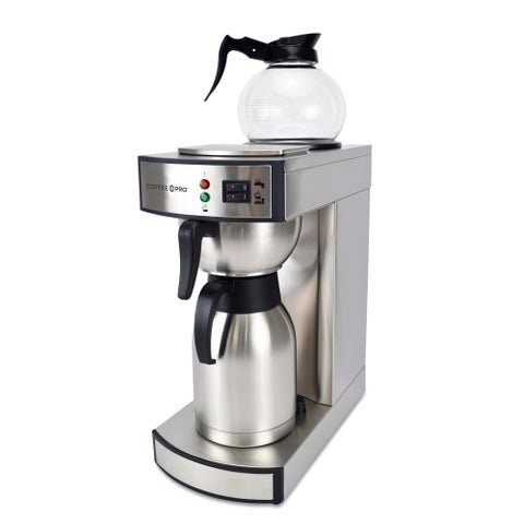 Coffee Pro CP-RLT Dual Brew Commercial Coffee Maker Thermal/ Decanter