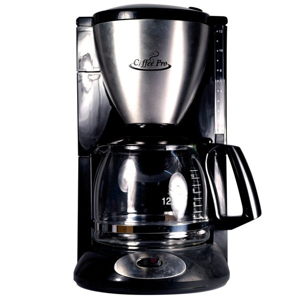 Shop Coffee Pro Cp862b Coffee Maker Euro Style Drip 12 Cup On