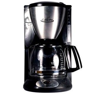 Coffee Pro CP862B Coffee Maker - Euro Style Drip - 12 Cup