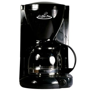 Coffee Pro CP6B Coffee Maker - Black - 4 Cup