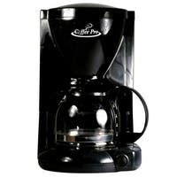 Coffee Pro CP6B Coffee Maker - Black - 4 Cup