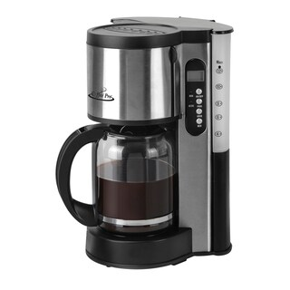 Coffee Pro CP-XQ679T Stainless Steel Drip Coffee Maker 10/12 Cup