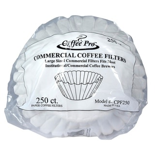 Coffee Pro CPF250 Coffee Filter - Institutiional Size - Commercial