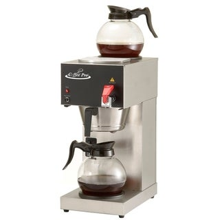 Coffee Pro CP-DC128AF Institutional Coffee Maker with Faucet, 2 Decanters
