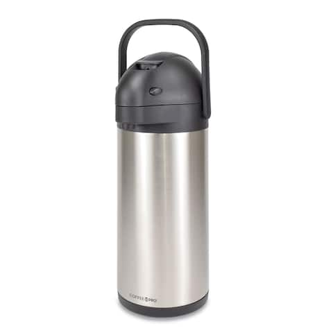 Coffee Pro CPAP30 Airpot - 3.0 Liter Lever Style - Commercial