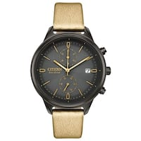 Citizen Ladies  Eco-Drive Vegan Leather Strap Watch