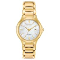 Citizen Ladies EW2522-51D Eco-Drive Stainless Steel Watch - N/A