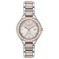 Citizen Ladies FE1196-57A Eco-Drive Silhouette Crystal Watch - N/A