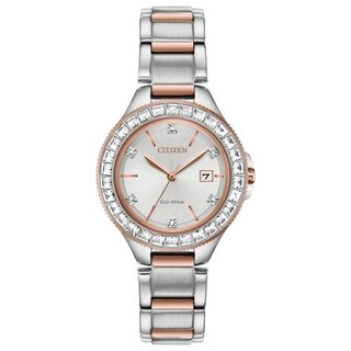 Citizen Ladies Eco-Drive Silhouette Crystal Watch