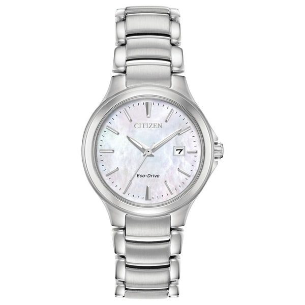 Citizen Ladies EW2520-56Y Eco-Drive Stainless Steel Watch - N/A