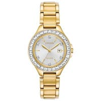 Citizen Ladies FE1192-58A Eco-Drive Silhouette Crystal Watch - N/A