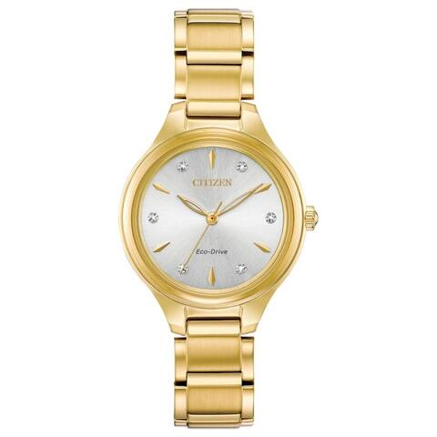 Citizen Ladies FE2102-55A Eco-Drive Diamond Dial Watch