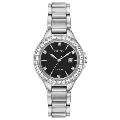 Citizen Ladies FE1190-53E Eco-Drive Silhouette Crystal Watch