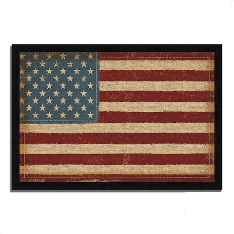 """""""USA Strong"""" by Pela Studio, Framed Painting Print, Ready to Hang"""