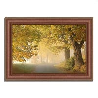 """""""On A Misty Autumn Morning"""", Framed Photograph Print, Ready to Hang"""