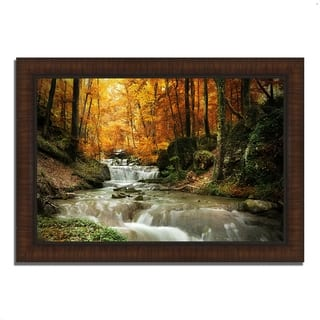 """Autumn Stream"", Framed Photograph Print, Ready to Hang"