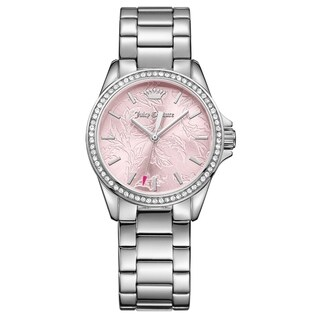 Juicy Couture Laguna Silver Women's Watch