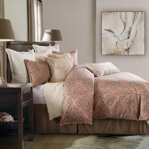 HiEnd Accents Sedona 3 PC Comforter Set, Super King