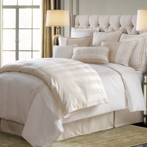 HiEnd Accents Hollywood 4 PC Comforter Set, Super King
