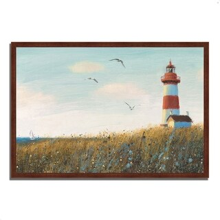 """""""Seaside View I"""" by James Wiens, Framed Painting Print, Ready to Hang"""