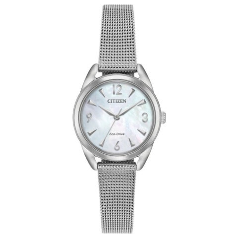 Drive from Citizen Eco-Drive EM0680-53D Ladies Mesh Watch