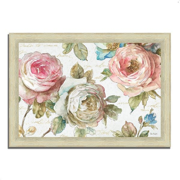 Poeme D Amour Ii By Lisa Audit Framed Painting Print Ready To Hang
