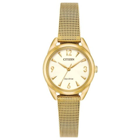 Drive from Citizen Eco-Drive EM0682-58P Ladies Mesh Watch