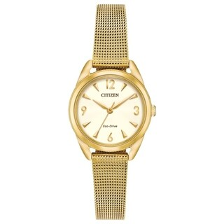 Drive from Citizen Eco-Drive EM0682-58P Ladies Mesh Watch - N/A