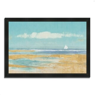 """""""Sail Away"""" by James Wiens, Framed Painting Print, Ready to Hang"""