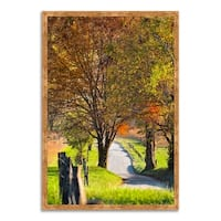 """""""Country Road I"""", Framed Photograph Print, Ready to Hang"""