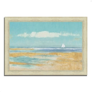 """Sail Away"" by James Wiens, Framed Painting Print, Ready to Hang"