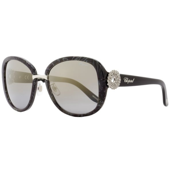 9b6f007ad482 Shop Chopard SCH186S 869G Womens Dark Gray Melange 57 mm Sunglasses - dark  gray melange - Free Shipping Today - Overstock - 21852554