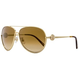 Chopard SCHB23S 300G Womens Rose Gold/Black 62 mm Sunglasses - Rose Gold/Black