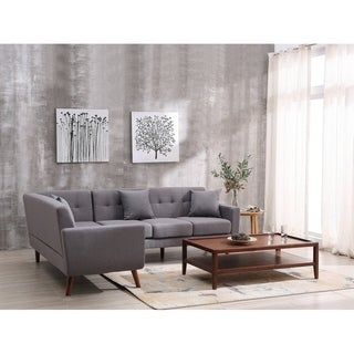 Kivik Linen Upholstered Left-hand-facing Sofa Sectional